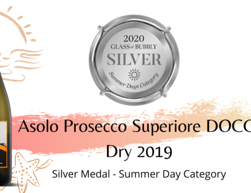 SILVER MEDAL – GLASS OF BUBBLY 2020